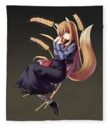 Spice And Wolf Fleece Blanket