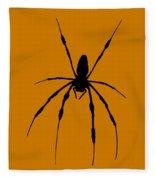 Spider Card Fleece Blanket