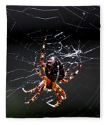 Spider Fleece Blanket