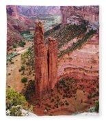 Spider Rock Fleece Blanket