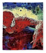 Spiderman Climbing  Fleece Blanket