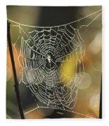 Spider's Creation Fleece Blanket