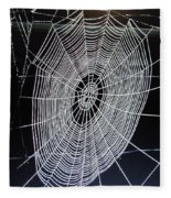 Spider's Web Fleece Blanket