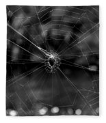 Spiderweb Fleece Blanket
