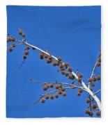 Spike Ball Tree Fleece Blanket