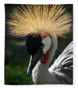 Spiked Crane Fleece Blanket