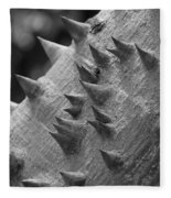 Spikey Thorny Tree Fleece Blanket
