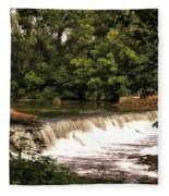 Spillway Early Morning Fleece Blanket