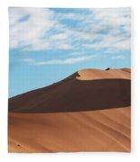 Spine Of The Desert Fleece Blanket