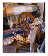 Spinning And Weaving Fleece Blanket