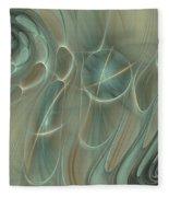 Spinning Galaxies Fleece Blanket