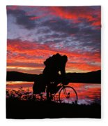 Spinning The Wheels Of Fortune Fleece Blanket