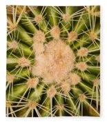 Spiny Cactus Needles Fleece Blanket
