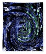 Spiral Vision Fleece Blanket