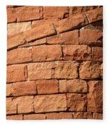 Spiraling Bricks Fleece Blanket
