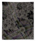 Spiraling Fleece Blanket