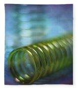 Spirals Fleece Blanket