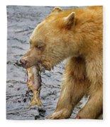 Spirit Bear Take Out  9636 Fleece Blanket