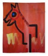 Spirit Horse Fleece Blanket