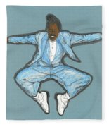 Spirit Of Cab Calloway Fleece Blanket