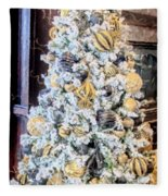 Spirit Of Christmas Fleece Blanket