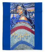Spirit Of New Orleans/ 300 Years Fleece Blanket
