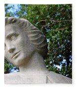 The Spirit Of Nursing Statue Up Close Fleece Blanket