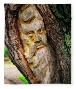 Spirit Of The Forest ... Fleece Blanket