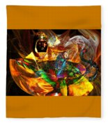 Spirit Of The Lamp Fleece Blanket