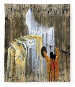 Spirit Of The Night Fleece Blanket