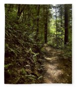 Spirit Of The  Wood Fleece Blanket
