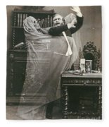 Spirit Photograph, 1863 Fleece Blanket