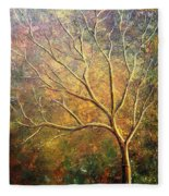 Spirit Tree 5 Fleece Blanket