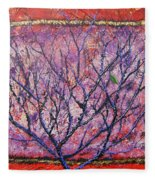 Spirit Tree 6 Fleece Blanket