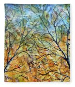 Spirit Trees 7 Fleece Blanket