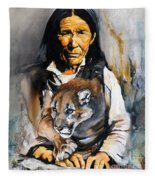 Spirit Within Fleece Blanket