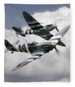 Spitfire Flying Legends Fleece Blanket