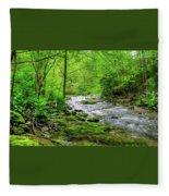 Spivey Creek Fleece Blanket