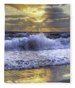 Splash Sunrise IIi Fleece Blanket