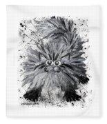 Splat Cat Fleece Blanket