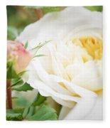 Splended Roses Fleece Blanket