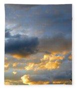 Splendid Cloudscape 1 Fleece Blanket
