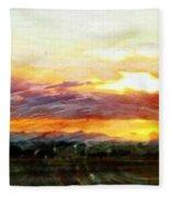 Splendor Vista Fleece Blanket