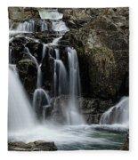 Split Rocks Falls 2 Fleece Blanket