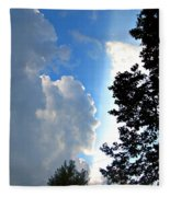 Split Sky Fleece Blanket