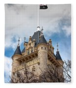 Spokane County Courthouse 3 Fleece Blanket