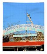 Sponge Capitol Fleece Blanket