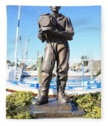 Sponge Diver Memorial Fleece Blanket