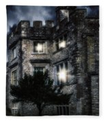 Spooky Castle Fleece Blanket