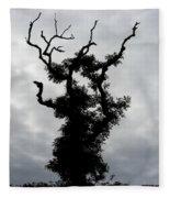 Spooky Tree Fleece Blanket